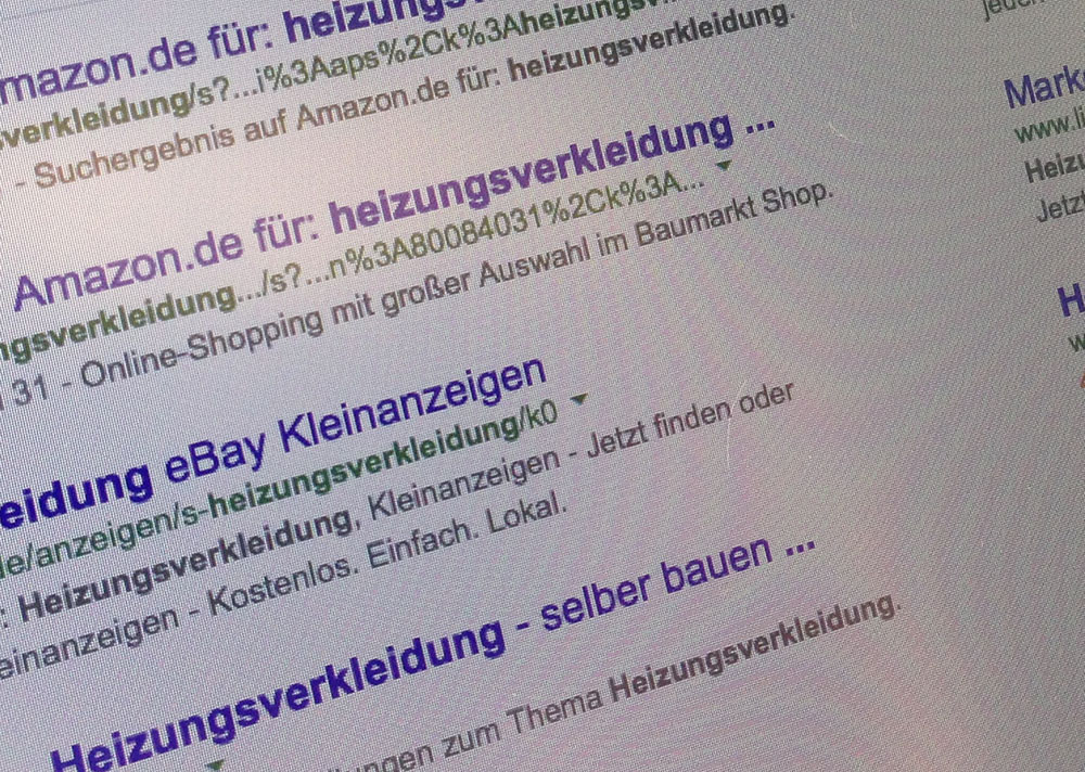 Marketing mit Google Adwords