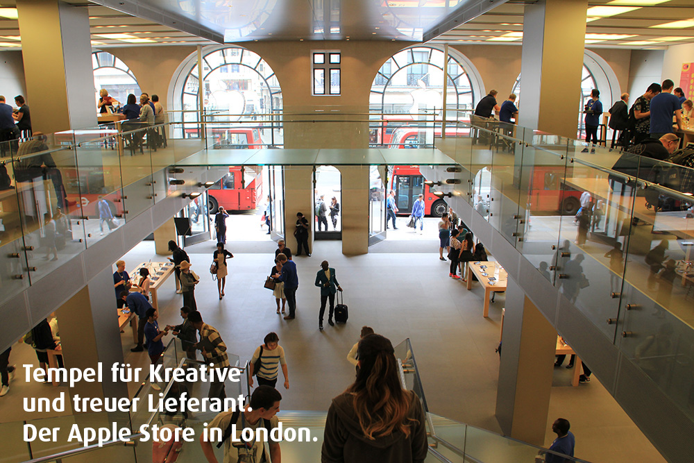 Der Apple Store in London
