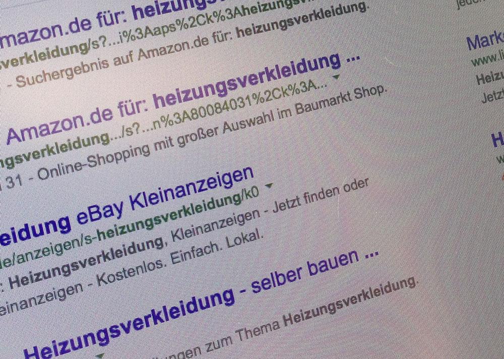 Google Adwords wird immer teurer